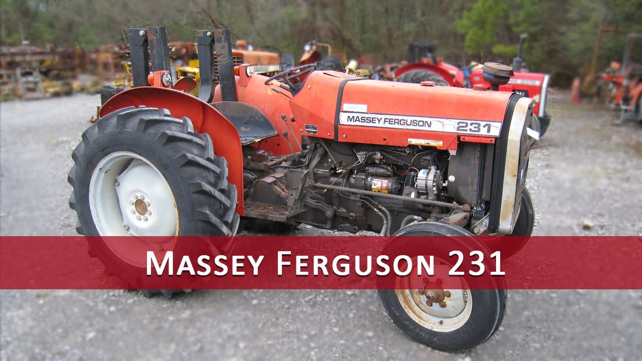 massey ferguson 231 service manual