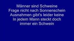 Ärzte Männer sind Schweine with lyrics