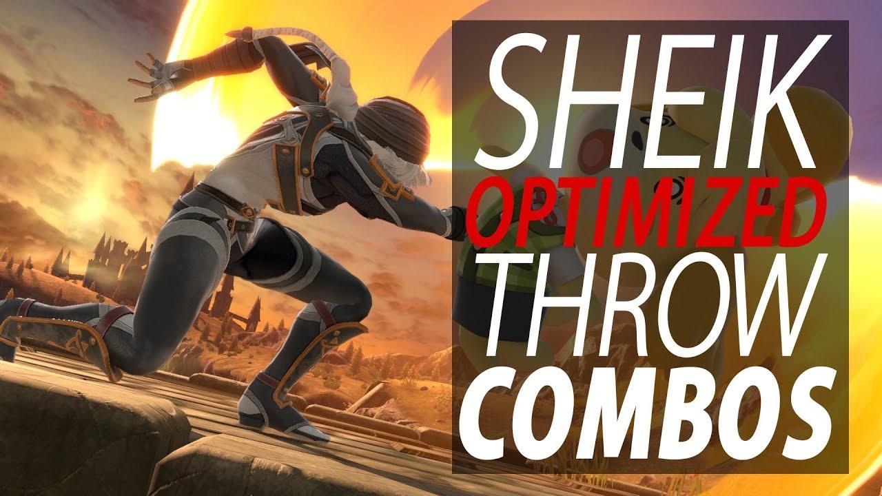 Download Sheik Optimized Throw Combos