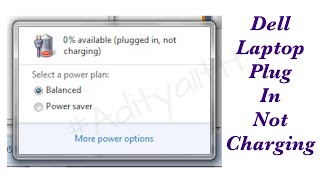 dell 3521 battery plugged in not charging issue solved by satishbhai aditya11ttt