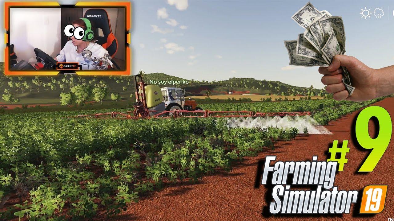 Farming Simulator 19 | #9 | Necesitamos empezar a generar dinero o QUEBRAREMOS!!