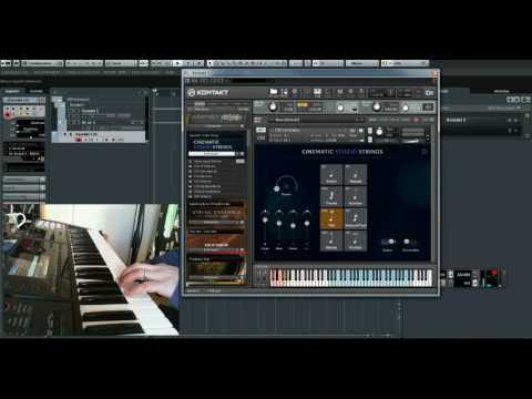 Cinematic Studio Strings e Cinematic Studio Piano - Recensione