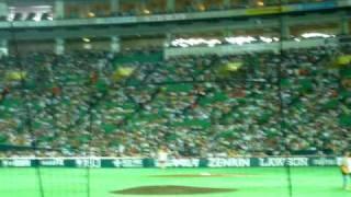 2009.7.12 ホークスーイーグルス試合前ライブ.