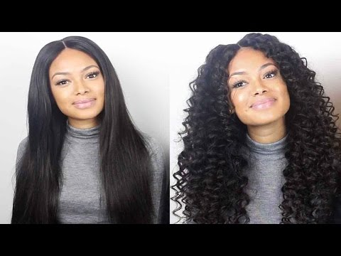 How To Transform Your Hair From Straight To Deepwave !