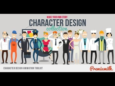 Character Design Animation Toolkit After Effects Template
