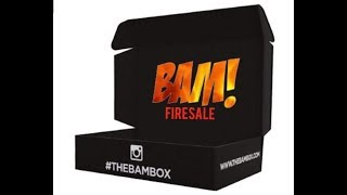Bam! Fire sale box