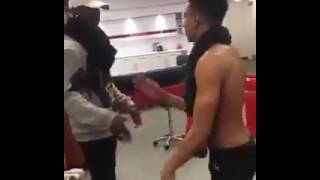 Download Video Pogba And Lingard Dance To Wizkid song 'Hush Up the Silence' MP3 3GP MP4