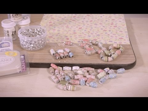 How To Make Paper Beads Arts & Crafts Tutorial