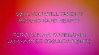 "Ben Haenow ft. Kelly Clarkson - ""Second Hand Heart"" (Lyrics English & Español)"