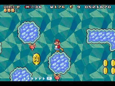 Eev Plays   SMA4: Super Mario Bros  3 (100%) - World e (Part 3)