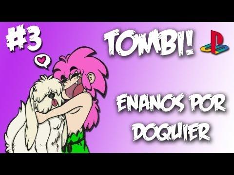 """Tombi! (PS1) - ¡Completo 100% y Comentado! (03/14) """"Enanos por doquier"""""""