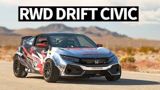 Download 900hp RWD Honda Civic... Drift Car!? SEMA 2019 Madness Begins Mp3 and Videos