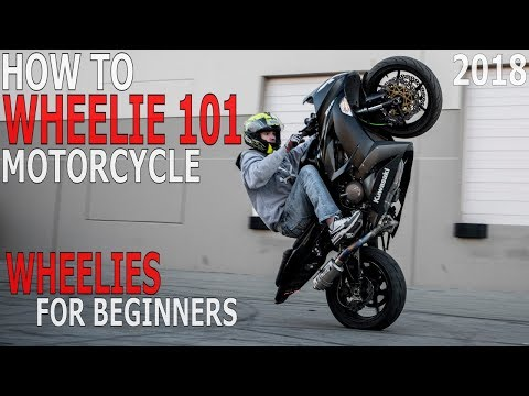How To WHEELIE Motorcycle Beginners WHEELIES 101 Clutch Up Balance Point Pop A WHEELIE Tutorial 2018