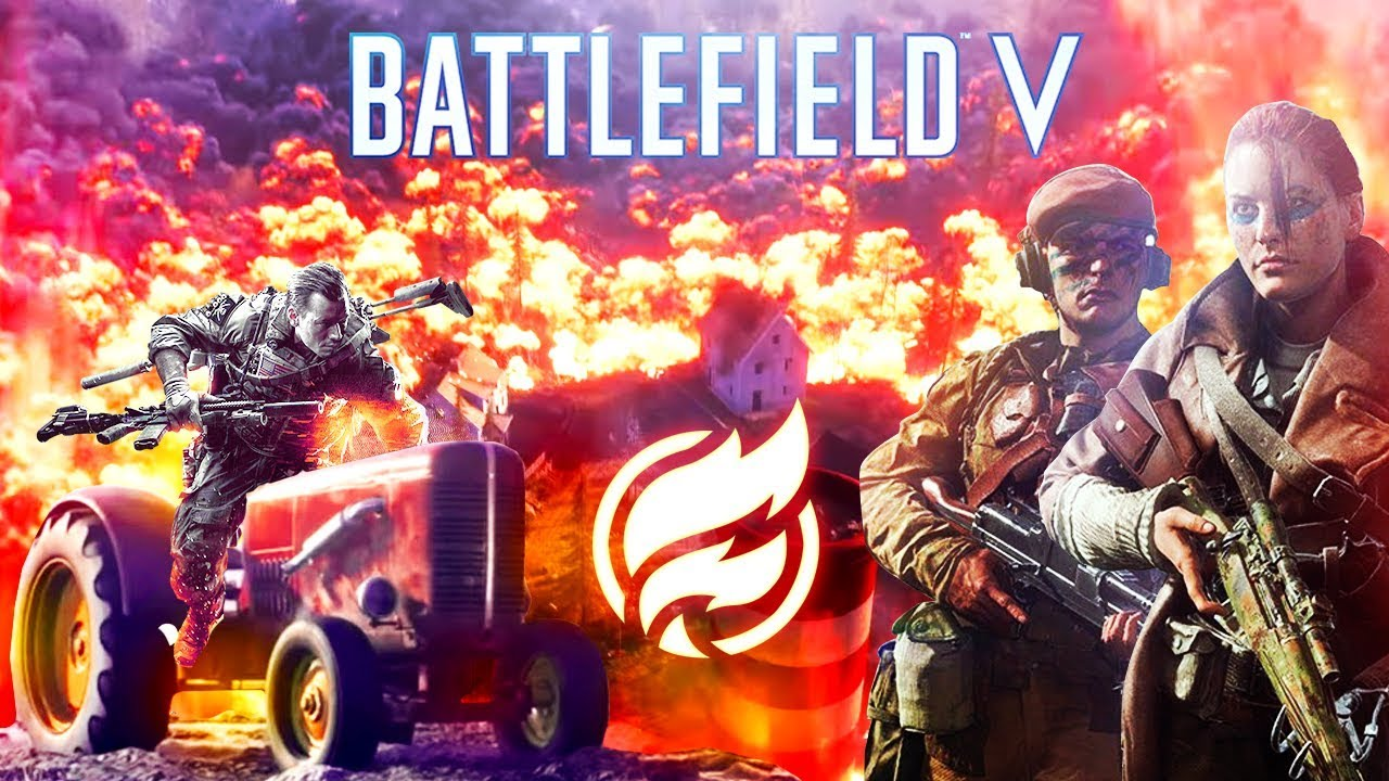A totally not sponsored video of Battlefield 5's NEW Battle Royale Firestorm - #notanad