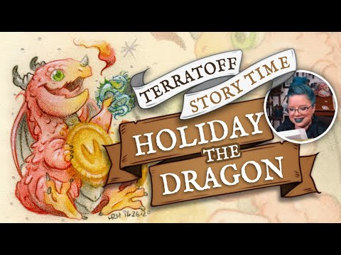 Holiday the Dragon   A Terratoff Christmas Holiday Audio Book Time Lapse