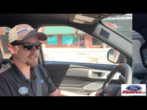 Milnes Ford: 2020 Ford Explorer Active Park Assist 2.0