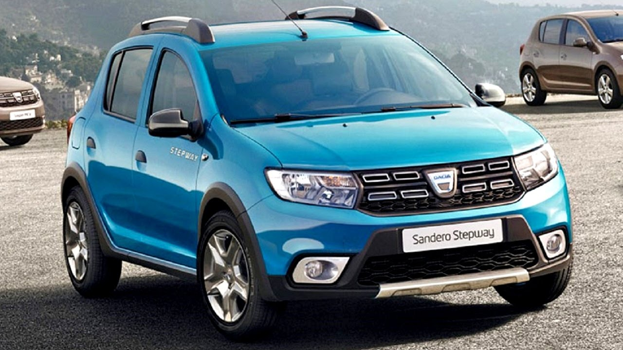 dacia sandero logan facelift 2016 paris first official. Black Bedroom Furniture Sets. Home Design Ideas
