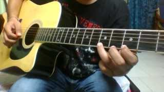 Madari (Guitar lesson) - mtv Coke Studio | intro and rhythm complete