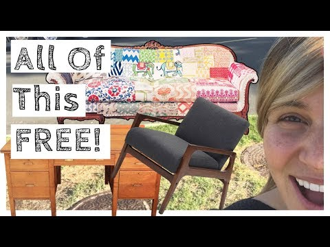 How To Get Free Furniture - Tons of FREE Items For Your Home