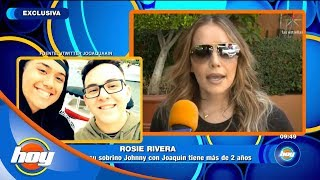 Rosie Rivera apoya el noviazgo de su sobrino | Hoy