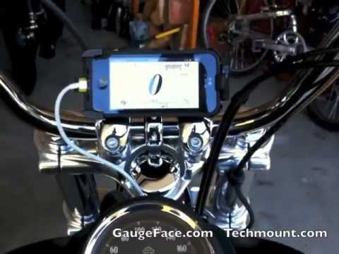Techmount For Iphone And Your Harley Davidson Motorcycle