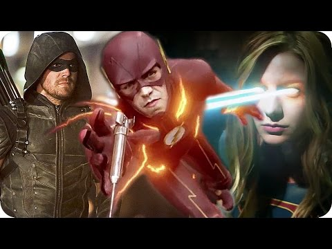 COMIC CON 2016 New The CW TV Show Trailers | The Flash, Arrow, Supergirl, Vampire Diaries