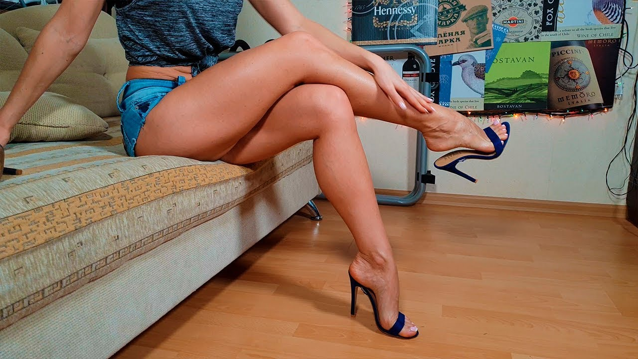 Showing my feet and legs