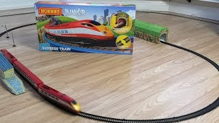 Opening the Hornby Junior Express Train Set