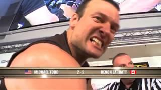 Arm Wars | Arm wrestling | Devon Larratt CAN v Monster Michael Todd USA