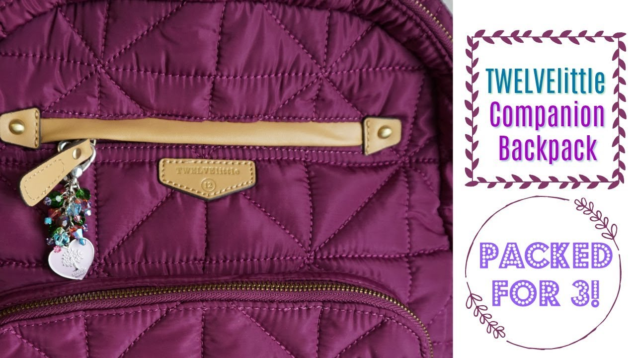 174ff9278f0b TWELVElittle Companion Backpack Diaper Bag