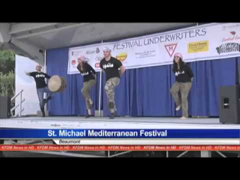 Mediterranean festival kicked off with dancing and food