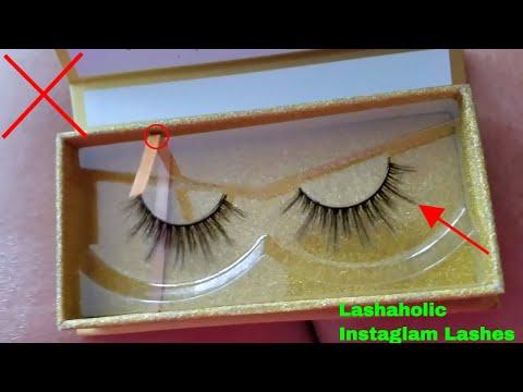 7628f21c36c ✅ How To Use Lashaholic Instaglam Luxury Lashes Review 🔴 - YouTube