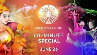 60-minute Special #10   Cirque Du Soleil   La Nouba, Varekai, Quidam