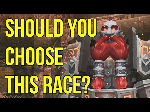 Dark Iron Dwarves - 3 Awesome Reasons to Play One | WoW BfA Allied Races - Lore and History