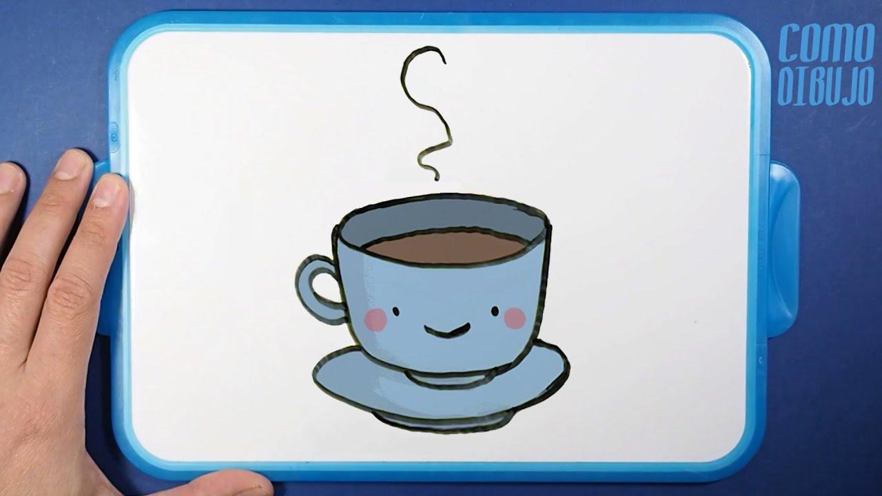 Como Dibujar Taza de Chocolate Kawaii paso a paso | How to Draw a ...