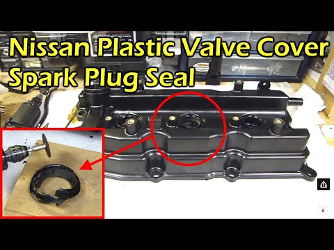 Nissan Plastic Valve Cover Spark Plug Tube Seal - Not Serviceable