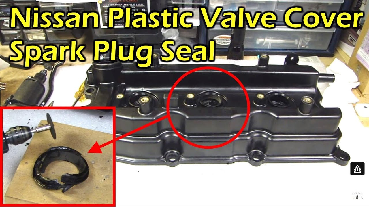 2001 nissan frontier engine diagram hampton bay ceiling fan switch wiring schematics diagrams hunter plastic valve cover spark plug tube seal - not serviceable youtube