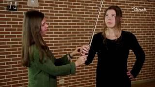 """Урок игры на скрипке """"Постановка правой руки скрипача"""" ч. 1"""