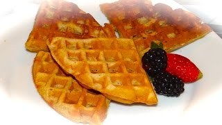 Belgian Waffles / Бельгийские Вафли- Видео Рецепт(This video is about Belgium waffles http://youtu.be/mYwEG6an2Ho Это видео Рецепт - как приготовить Бильгийские Вафли 2-яйца 2 стакана-..., 2014-12-14T02:13:43.000Z)