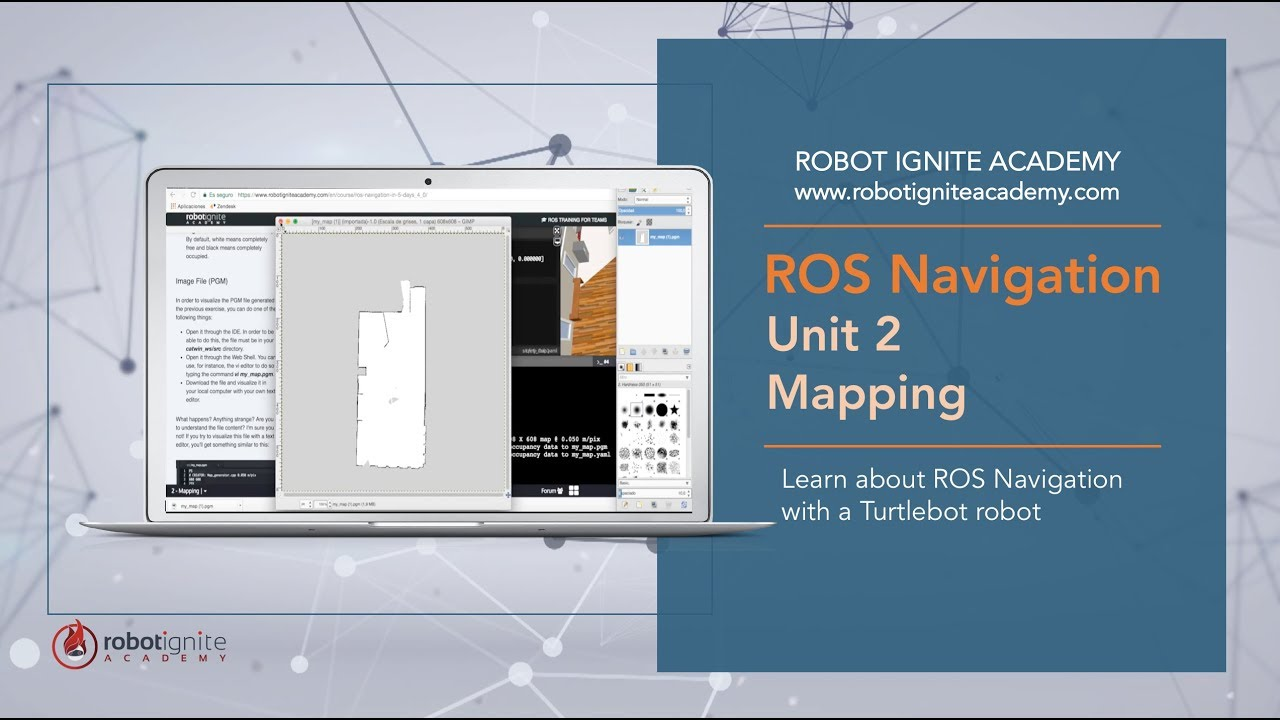ROS NAVIGATION IN 5 DAYS #2 - Mapping & Create a map from zero