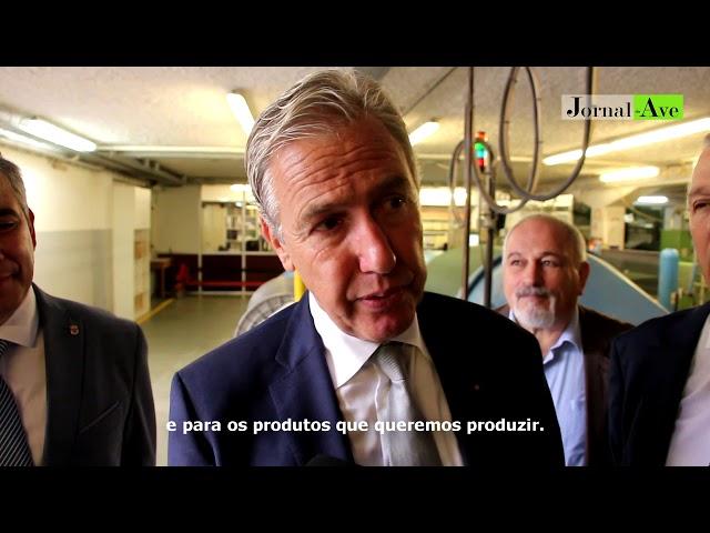 Lantal apresenta investimento de 1,7 milhões em Santo Tirso