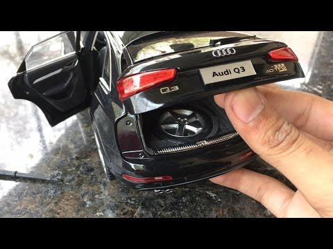 Diecast Unboxing-2015 Audi Q3 1/18 Audi Collections Paudi Models