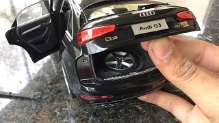 Diecast Unboxing-2015 Audi Q3 1/18 Audi Collections Paudi Models