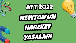 Newton'un Hareket Yasaları  AYT Fizik 2022 hedefekoş