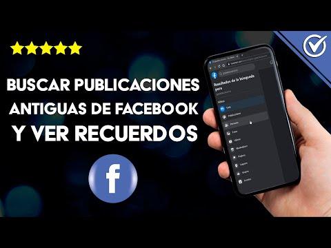 Cómo Buscar o ir a las Publicaciones Antiguas de Facebook para Buscar un Recuerdo