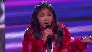 "Angelica Hale + Kechi + Kelly Clarkson ""Stronger"" (cut away: ""ladies and gentlemen"")"