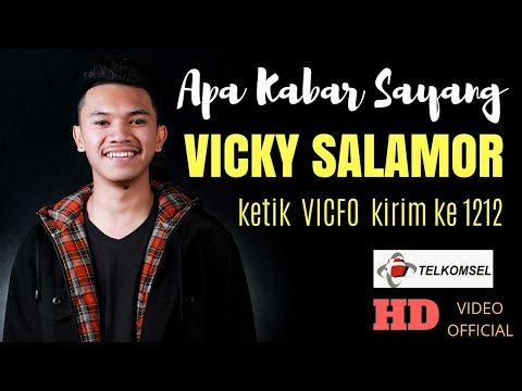 APA KABAR SAYANG - VICKY SALAMOR ( OFFICIAL MUSIC VIDEO )