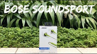 Bose Soundsport In-ear Review - Best Wired Headphones?