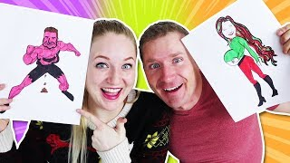 3 Marker Challenge with Becca and Ryan!