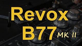 Revox B77 MKII [Reduktor Szumu]#152